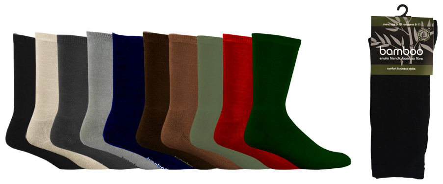 bamboo comfort business socks
